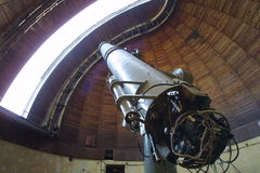 Telescópio - dispositivo ótico Fotografia de Stock Royalty Free
