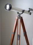 Telescópio do amador do vintage Foto de Stock