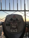 Telescópio em New York City Foto de Stock Royalty Free