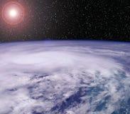 Telescópio espacial Imagem de Stock