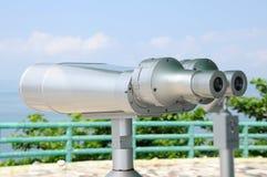 Telescópio a fichas do viewfinder imagem de stock