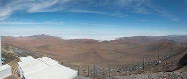 Telescópio muito grande o Chile do europeu fotografia de stock