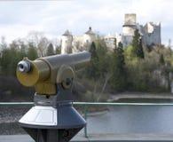 Telescópio panorâmico imagens de stock