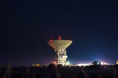 Telescópio RT-70 de rádio fotos de stock