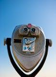 Telescópio sobre a ponte de porta dourada Foto de Stock