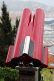 Telescoop bij reisbestemming Royalty-vrije Stock Afbeelding