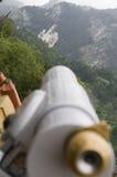 Telescoop voor Neuschwanstein Royalty-vrije Stock Foto