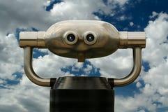 Telescop pubblico sembrante moderno Immagine Stock Libera da Diritti