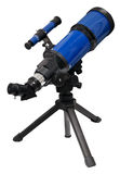 Telescope. Isolated on white. Clipping path included Stock Images