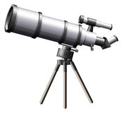 A telescope Stock Photo