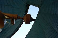Telescope counterweight Stock Photo