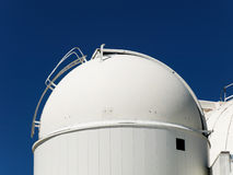 Telescope dome observatory Royalty Free Stock Photography
