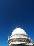 Telescope dome observatory Royalty Free Stock Photos