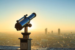 Telescope Fourviere Royalty Free Stock Photography