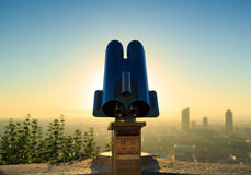 Telescope Fourviere Royalty Free Stock Photos