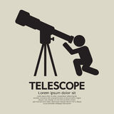 Telescope Graphic Symbol Royalty Free Stock Photo