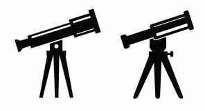 Telescope icon Stock Photos