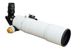 Telescope isolated Stock Image