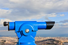 Telescope look Stock Photos