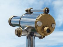 Telescope, By Looking, View Stock Photo
