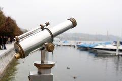 Telescope luzern Royalty Free Stock Image
