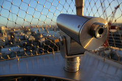 Telescope at the Monument Royalty Free Stock Images