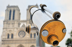 Telescope by Notre-Dame Stock Photography