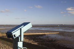 Telescope at Southend-on-Sea, Essex, England Stock Photography