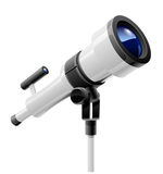 Telescope on support Royalty Free Stock Photography