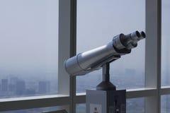 Telescope at 72th floor,  Kengnam Landmark, Hanoi Royalty Free Stock Photography