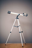 Telescope on tripod Stock Photo
