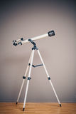 Telescope on tripod Stock Image