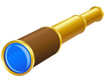Telescope vector illustration Royalty Free Stock Photography