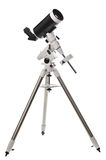 Telescope. On white background Royalty Free Stock Photos
