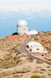 Telescopes in La Palma Royalty Free Stock Photo