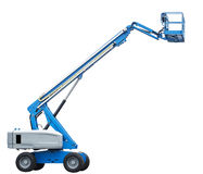 Telescopic Boom Lift Stock Image
