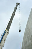 Telescopic crane Royalty Free Stock Image