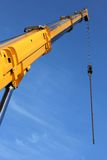 Telescopic crane Royalty Free Stock Photo