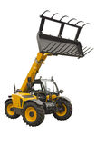 Telescopic handler Stock Image