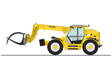 Telescopic handler Royalty Free Stock Image