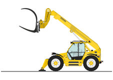 Telescopic handler Royalty Free Stock Images