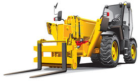 Telescopic loader Royalty Free Stock Images