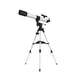 Telescopio aislado Imagen de archivo libre de regalías