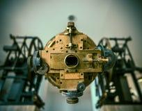 Telescopio astronómico del vintage fotos de archivo