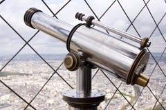 Telescopio de fichas   Imagenes de archivo