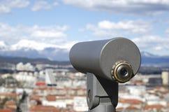 Telescopio del visor Imágenes de archivo libres de regalías