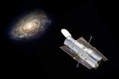 Telescopio de Hubble en espacio imagenes de archivo
