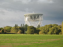 Telescopio de Lovell, batería de Jodrell Imagen de archivo