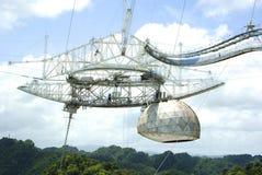 Telescopio de radio Imagenes de archivo