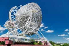 Telescopio de radio blanco grande RTF-32 Foto de archivo libre de regalías